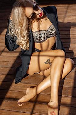 Anita - Blonde Hobbynutten für Sex Massage zum Hotel bestellen